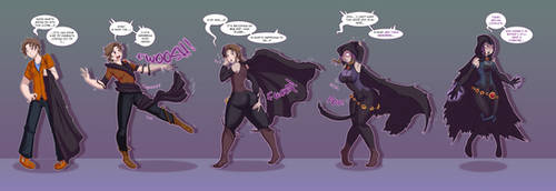 Raven (DC Comics)  TG Sequence