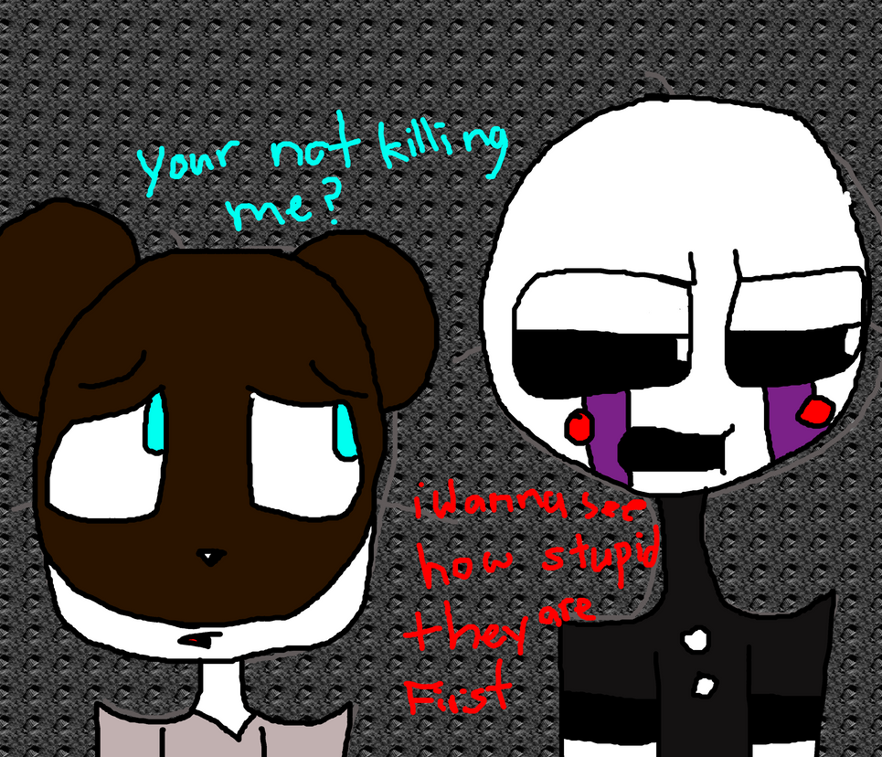 Marionette And Jeremy By DaisyDoesFNAF On DeviantArt