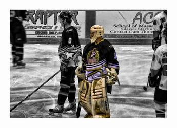 ice hockey by RickyJones