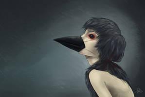 Crow by Hyia-K