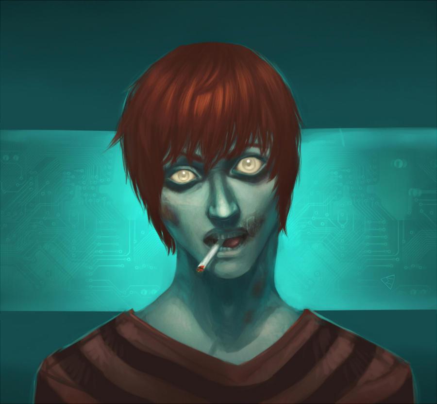 New Matt zombie by Hyia-K