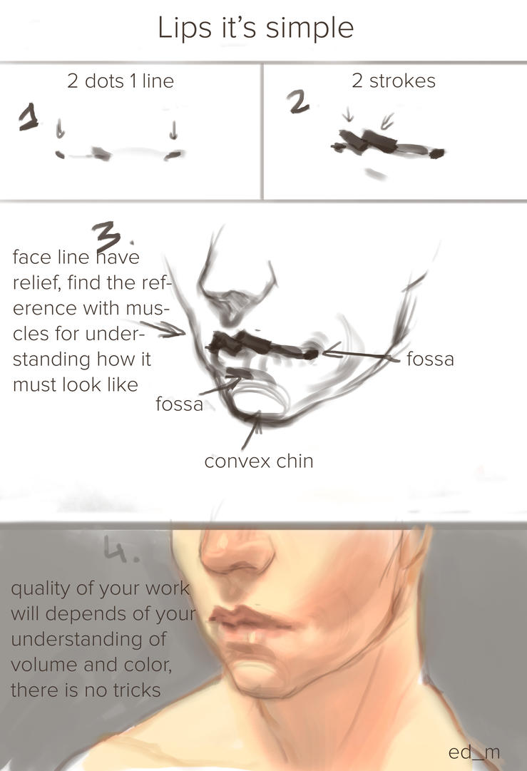 lips tutorial by Hyia-K