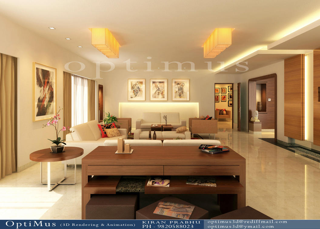Living Room 3d By Optimus3d ...