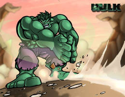 Hulk Shoot Dirt by TerryTibke