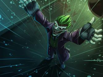 Joker 24x18 by TerryTibke