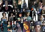 Many Faces of Jill Valentine