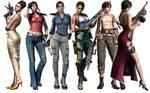 The ladies of Resident Evil