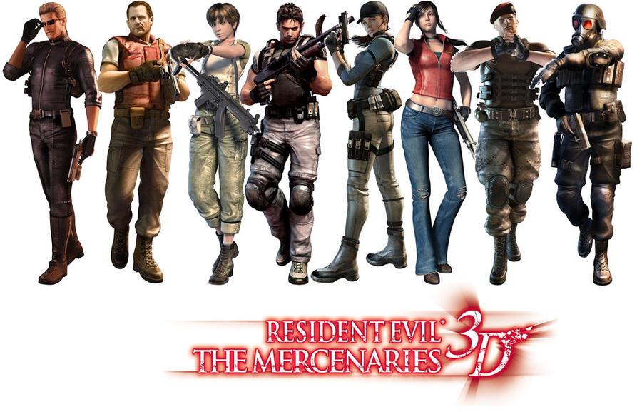 Resident Evil Mercenaries 3D