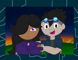 A cute couple by ClasherX35