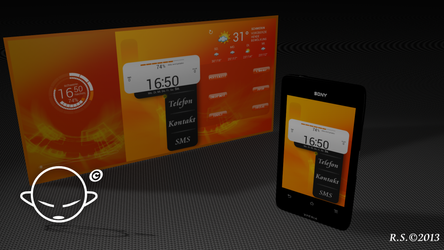 Xperia Go -- Orange Dream --