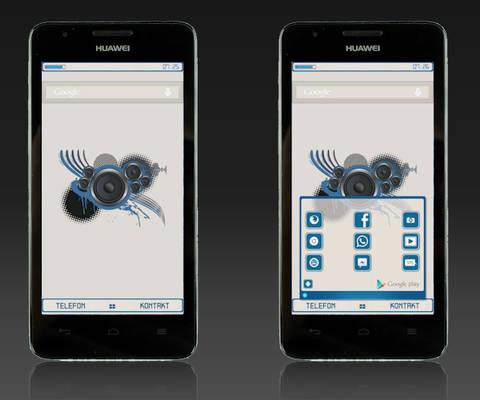 Buzz Launcher Skin - Altero (OS Style)