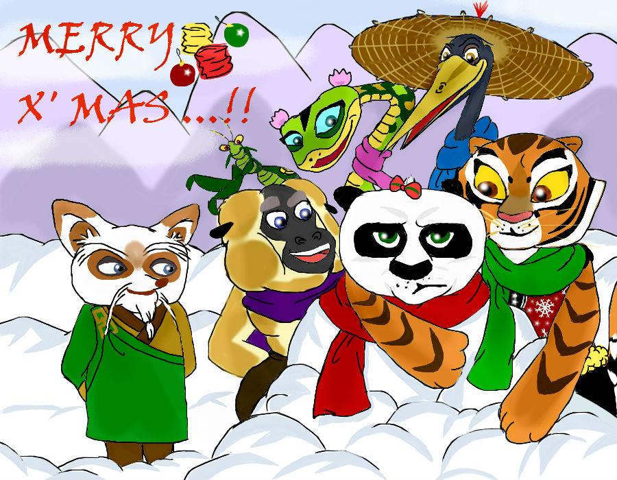 Kung Fu Panda by Emerald-Procyon on DeviantArt