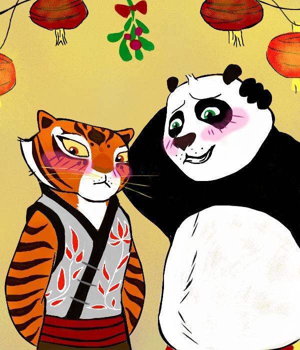 Romantic on Po-N-Tigress - DeviantArt
