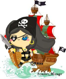 Lady Pirate by qiaoke
