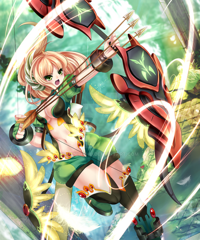 The God Archer by Rokudo-Aurora