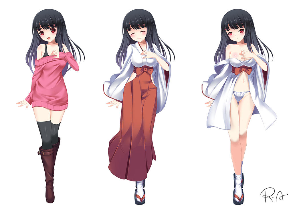 Anime Characters Full Body : Commission fullbody anime style by hanh chu on