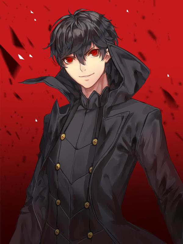 Persona 5 Akira Kurusu By Hanh Chu On Deviantart