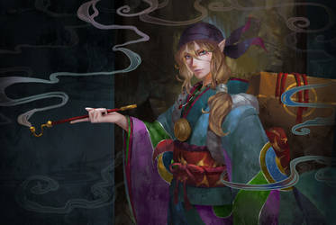 Kusuriuri by Hanh-Chu