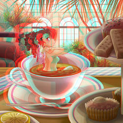 Steeping Beauty, 3D ver.