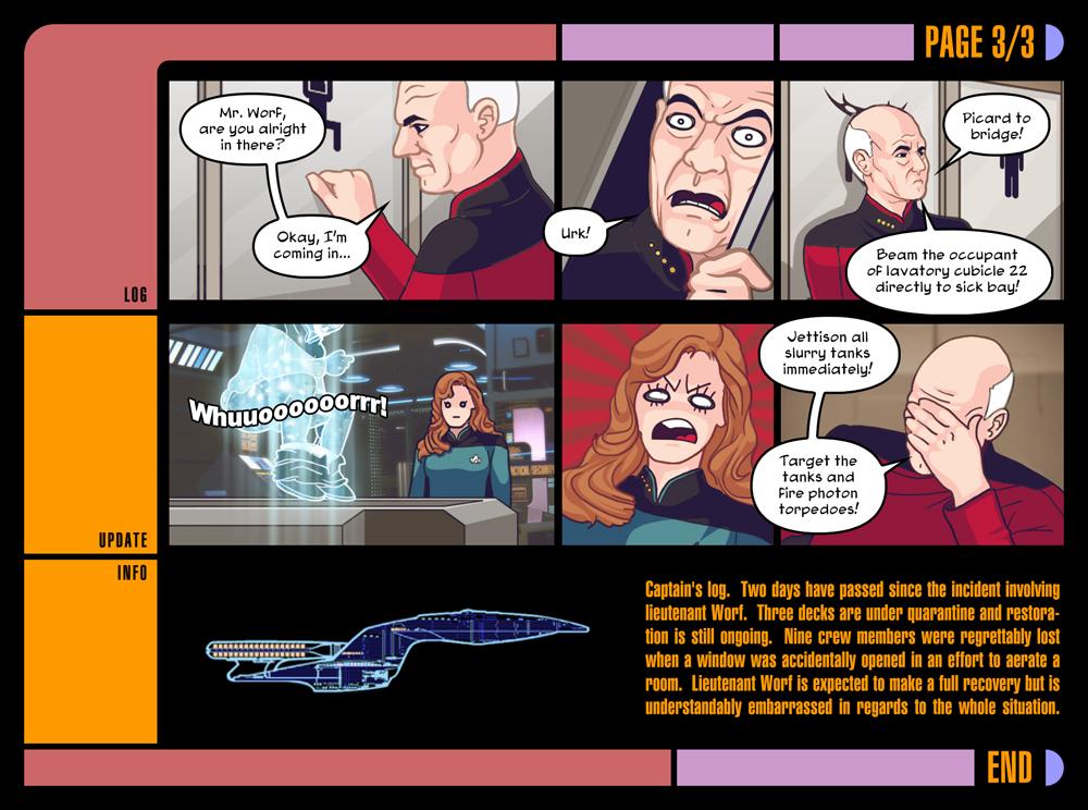 Star Trek, Part Three by Louistrations