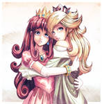 Princesses Shokora + Rosalina