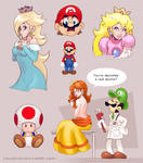 Sketch compilation, it's Mario Time!