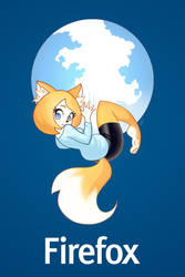 Firefox by Louistrations