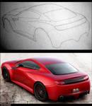 Concept Car rear view