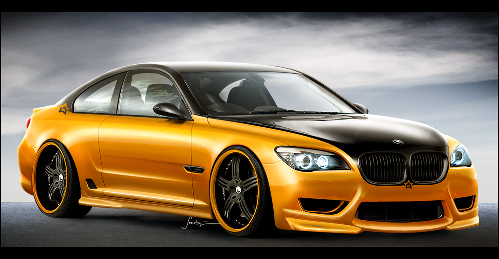 Bmw 7 Series Coupe By Gtstudio On Deviantart