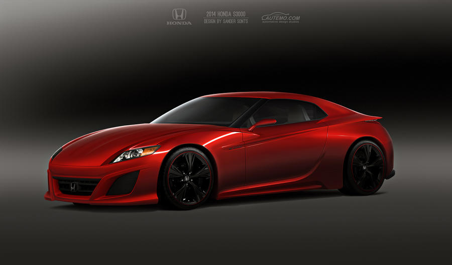 Honda S3000 Concept by GTStudio on DeviantArt