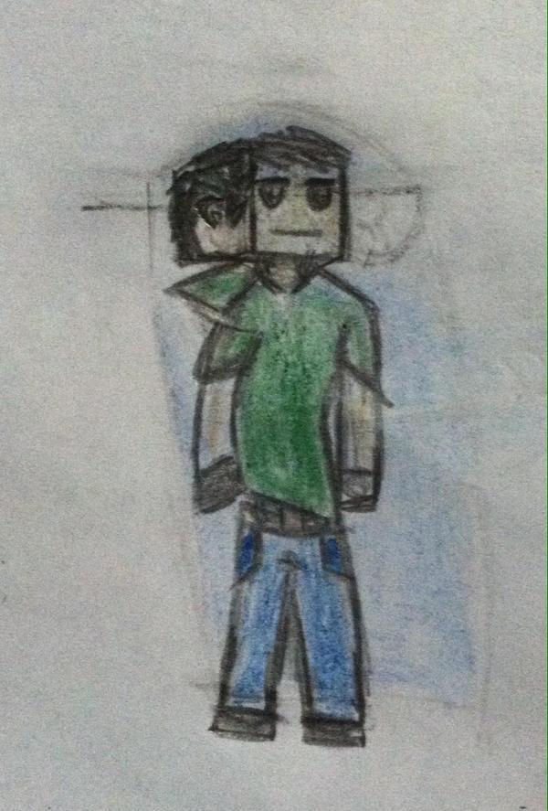 Minecraft player by abdiel13