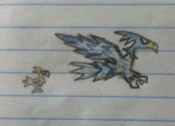 Flaming Wings by abdiel13