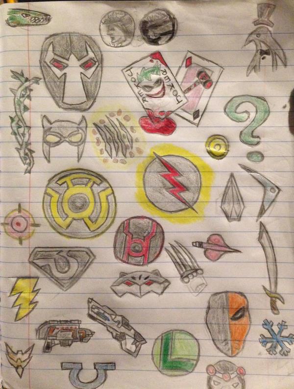 Dc comic villains by abdiel13