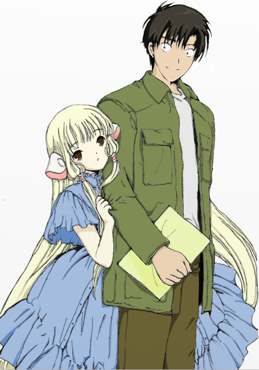 Hideki and Chii by TheChii on DeviantArt