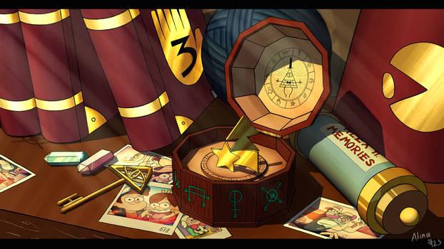 Gravity Falls- Mystery box