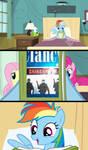 Rainbow Dash Reads Rainbow Six