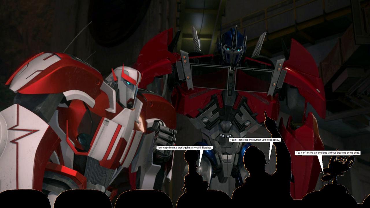 Transformers Prime MST3K - 103