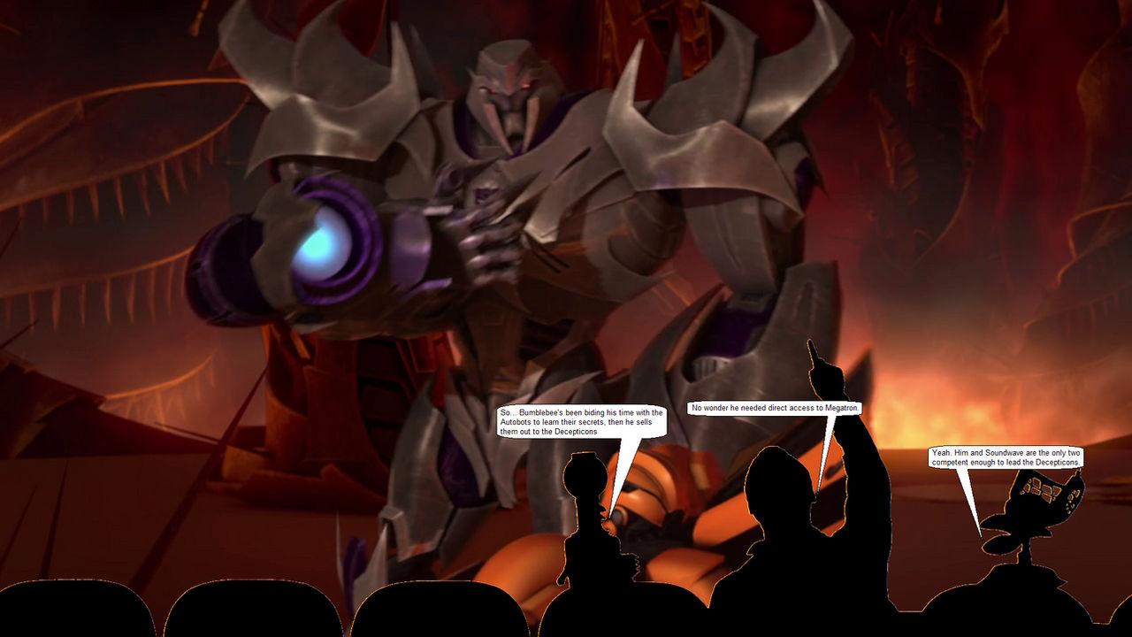 Transformers Prime MST3K - 113