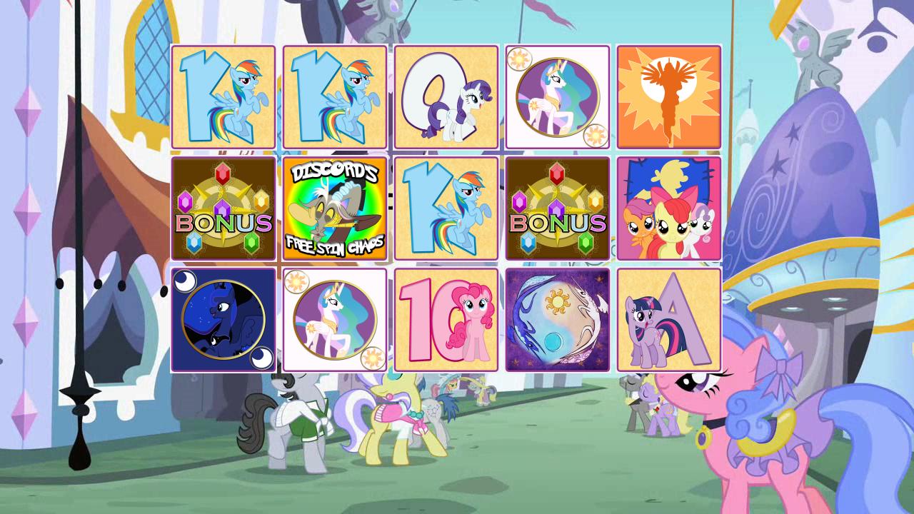 My Little Pony 30 Line Slot Machine Game