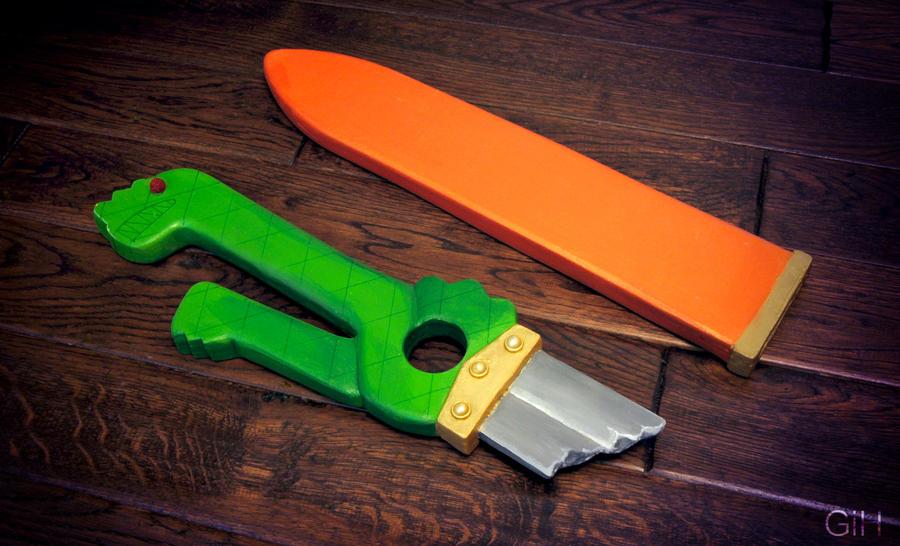 Meliodas' broken blade by GiH-Crafting