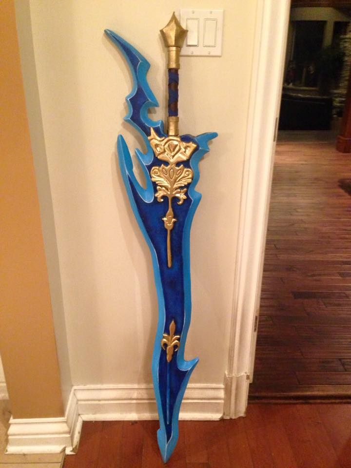 Tidus sword prop commission by GiH-Crafting