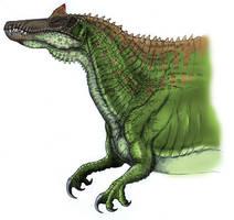 Spinosaurus by Fafnirx