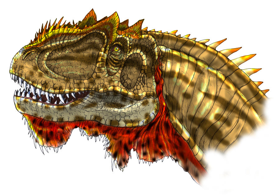 Yangchuanosaurus by Fafnirx on DeviantArt