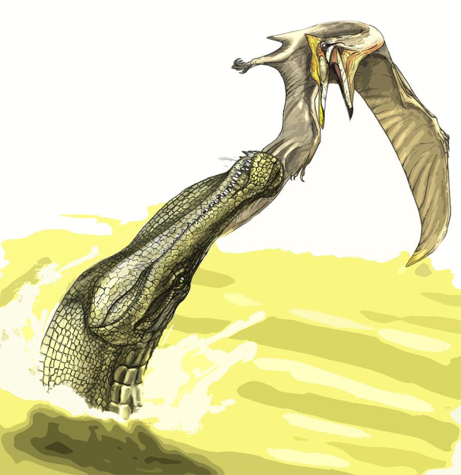 Sarcosuchus by Fafnirx on DeviantArt