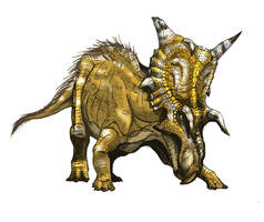 Xenoceratops by Fafnirx