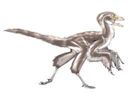 Eosinopteryx by Fafnirx