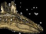 Stegosaurus head