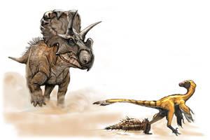 Wendiceratops by Fafnirx