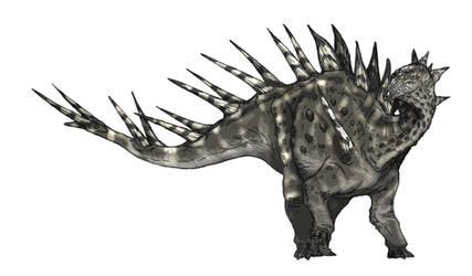 Kentrosaurus by Fafnirx