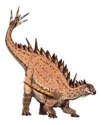 Gigantspinosaurus by Fafnirx